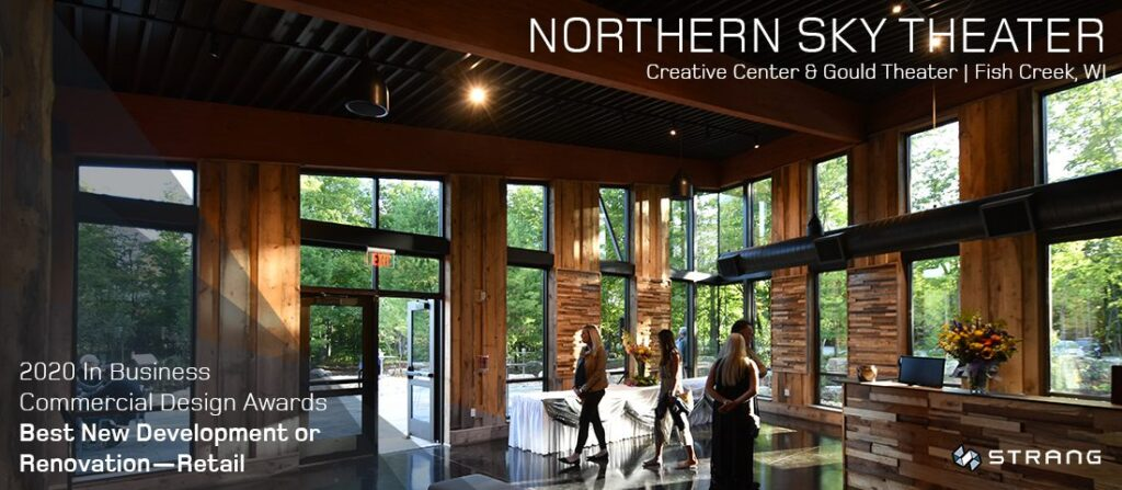 Northern Sky Theater Receives IB Commercial Design Award